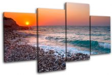 Pebble Beach Sunset Seascape - 13-2228(00B)-MP04-LO